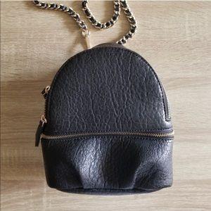 Zara convertible bag w/ detachable chain